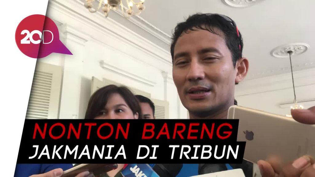 Cerita Sandiaga Teriaki Perusak Stadion GBK Kampungan