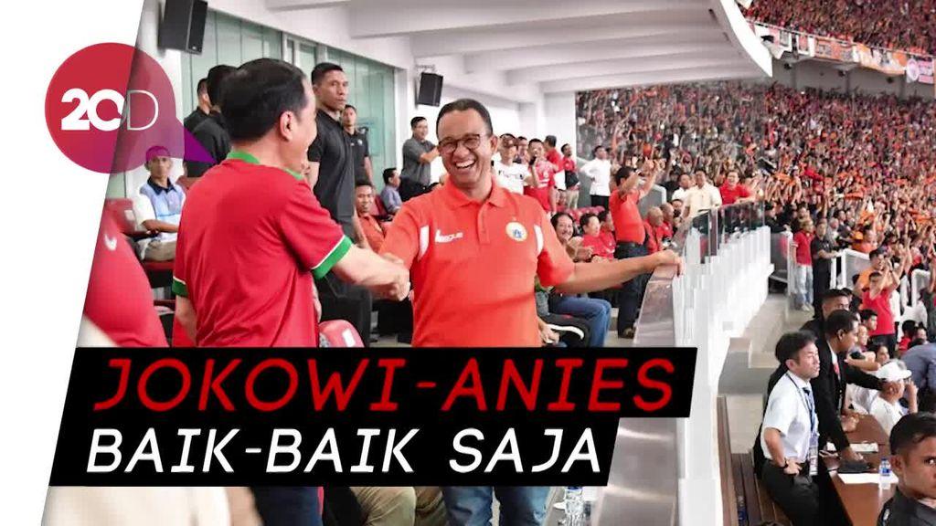Ketua Panitia: Ada yang Tak Senang Jokowi-Anies Kompak