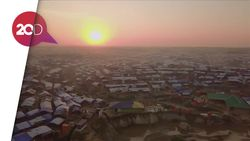Kamp Kutapalong, Perbukitan Tempat Rohingya Berlindung