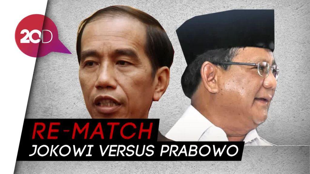 Pilpres 2019 Tanding Ulang Antara Jokowi dan Prabowo