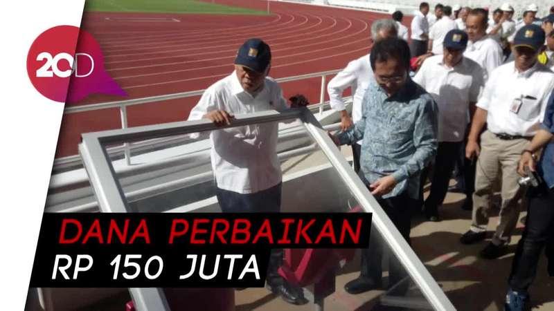 Pasca GBK Dirusak, Menteri PUPR: Tak Ganggu Asian Games