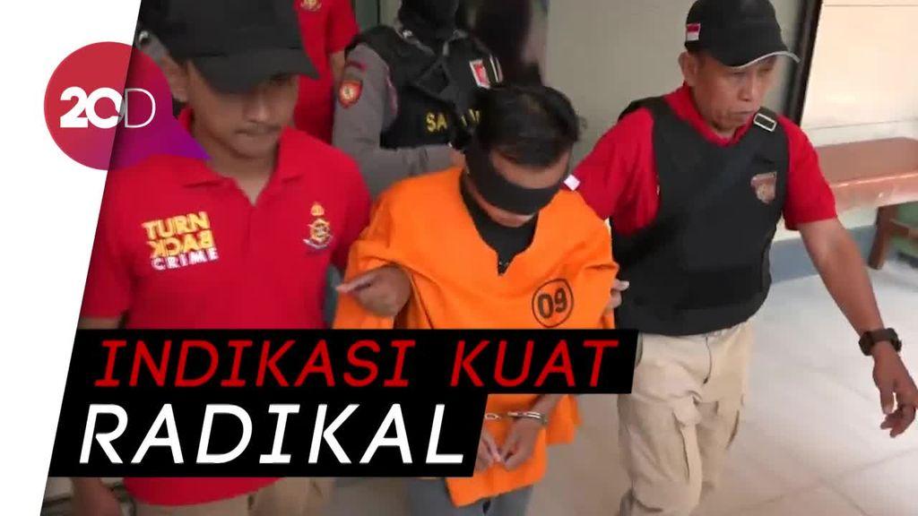Pelaku Percobaan Penyerangan Polres Probolinggo Dibawa Densus 88