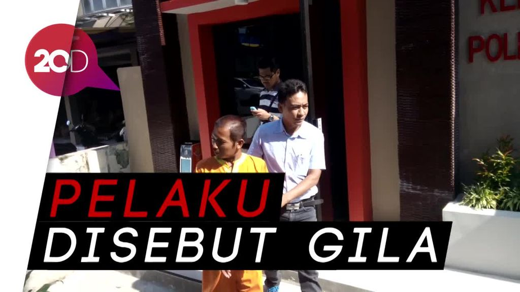Penyerang Kiai Hakam Tes Kejiwaan di RS Polda Jatim