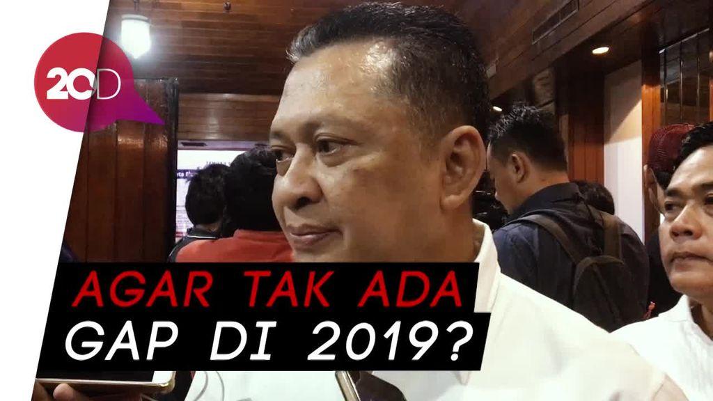Bamsoet Dukung Jokowi Duet dengan Prabowo di Pilpres 2019