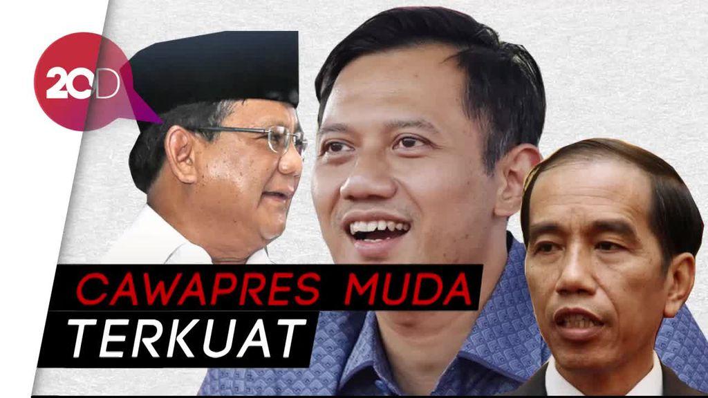 AHY Cawapres Terkuat Jokowi Maupun Prabowo Versi Poltracking