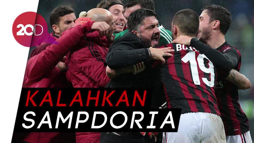 Gol Tunggal Bonaventura Menangkan Milan