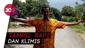 Mas Siswandi, Barber Plus Penjaga Lintasan KA