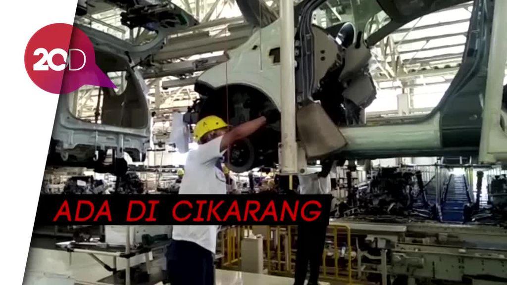 Melihat Jeroan Pabrik Tercanggih Suzuki di Dunia