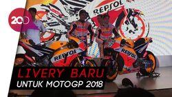 Lewat Marquez dan Pedrosa, Honda Pamer Livery RC213V 2018