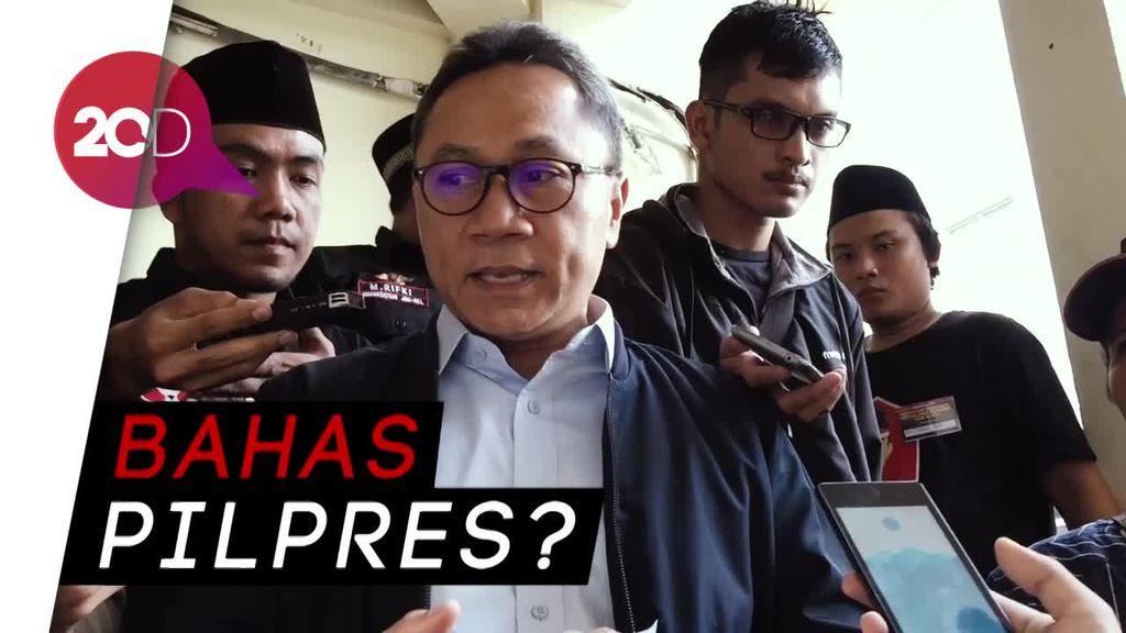 Diam-diam Temui Jokowi, Zulkifli Hasan Bahas Apa?