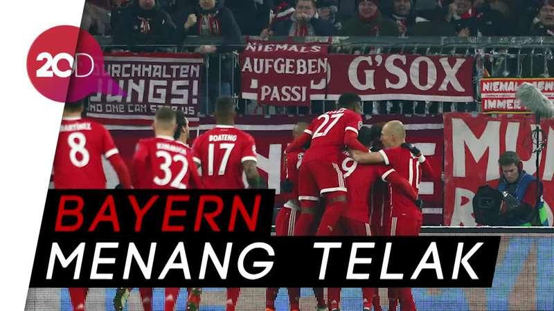 Bayern Tertolong Kartu Merah Besiktas