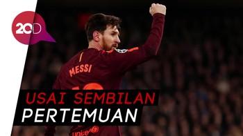 Gol Pertama Messi ke Gawang Chelsea