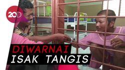 Momen Haru Pertemuan Keluarga dan Penyerang Kiai di Lamongan