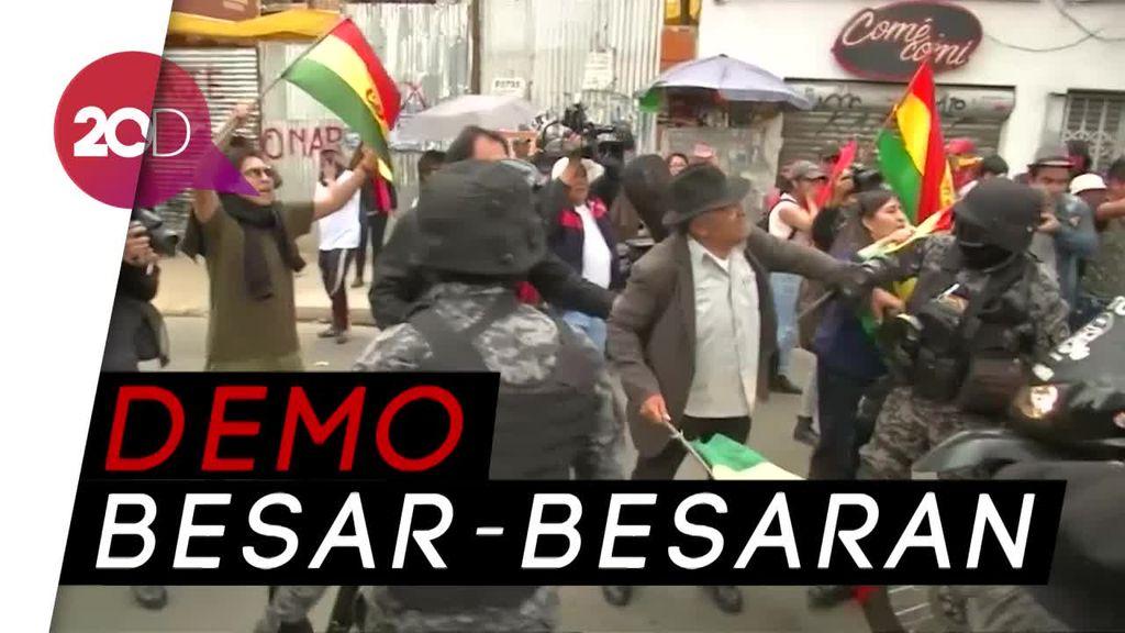 Pencalonan Kembali Presiden Morales Bikin Bolivia Memanas