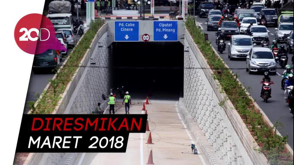 Sudah Cantik, Underpass Kartini Siap Beroperasi