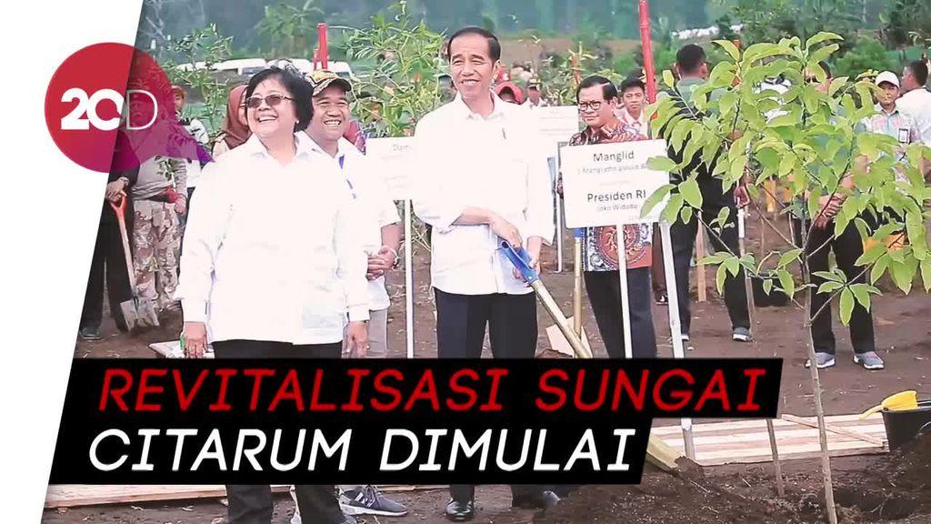 Jokowi: Revitalisasi Hulu Sungai Citarum Ditargetkan Selesai 7 Tahun