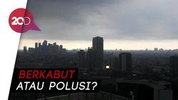 Netizen Ramai Soal Kabut di Jakarta Pagi Ini