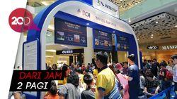 Rela Antre Semalaman untuk Tiket Murah di SIA-BCA Travel Fair 2018