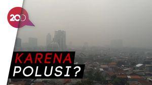Jakarta Berkabut Pagi Ini