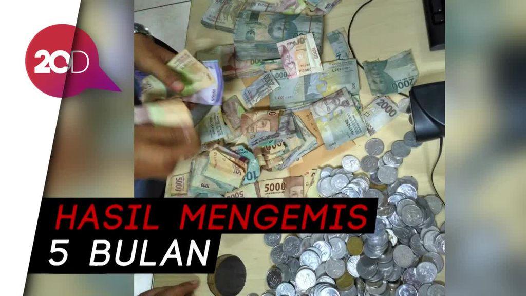 Dinas Sosial Amankan Pengemis dan Uang Rp 2,3 jutaan