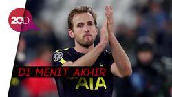 Gol Sundulan Kane yang Menangkan Spurs