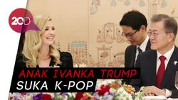 Cucu Donald Trump Ngefans K-Pop dan BTS
