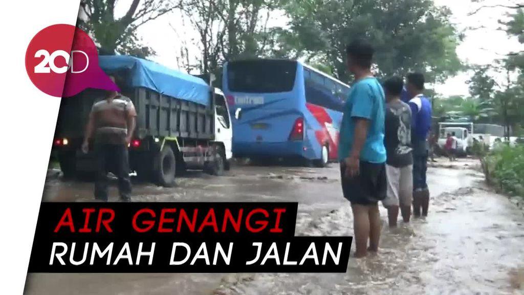 Banjir Terjang 2 Kecamatan di Probolinggo