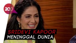 Aktris Bollywood Sridevi Kapoor Meninggal Dunia