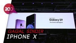 Sindir iPhone X di Peluncuran Galaxy S9, Ini Reaksi Penonton