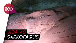 Penampakan Makam Kuno Berisi 1.000 Patung di Mesir