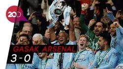 Piala Pertama Guardiola Bersama The Citizens