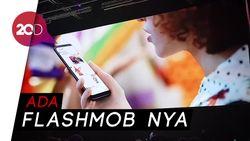 Keseruan Launching Samsung Galaxy S9 dan S9+ di Barcelona