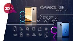 Perbandingan Galaxy S9 dan S8, Apa Saja?