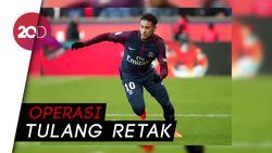 Neymar akan Absen Tiga Bulan untuk Pemulihan Cedera