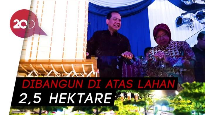 Chairul Tanjung dan Risma Hadiri Groundbreaking Trans Icon Surabaya