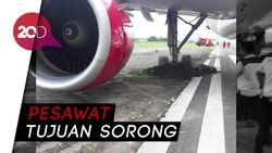 Batik Air Tergelincir di Bandara Manokwari