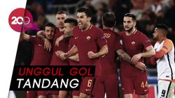 Gol Tunggal Dzeko Loloskan Roma ke Perempat Final Liga Champions
