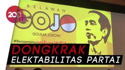 Golkar Bentuk Relawan Gojo untuk Menangkan Jokowi di Pilpres
