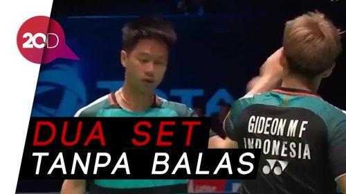 Tumbangkan Ganda Taiwan, Kevin/Marcus Kantongi Tiket Semifinal