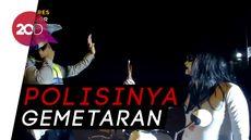 Heboh Video Polisi Tilang Kuntilanak