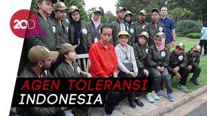 Jokowi ke Sdyney Bersama 18 Pelajar Milenial