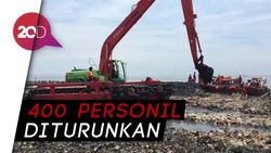 Diperkirakan Sampah di Teluk Jakarta Bersih dalam Sepekan