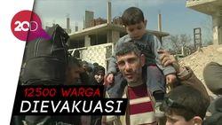 Ghouta Timur Memanas, Evakuasi Besar-besaran Dilakukan
