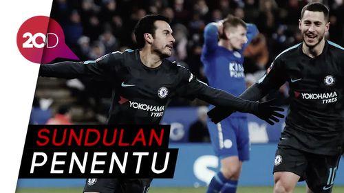 Pedro Antarkan Chelsea ke Semifinal Piala FA
