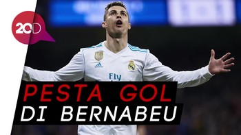 Mantap! Ronaldo Cetak Hat-trick ke-50