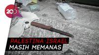 Warga Palestina Ditembak Usai Bacok Aparat Israel