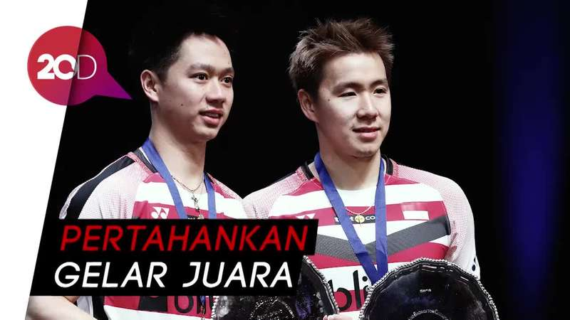 Highlight! Kevin/Marcus Juara All England 2018