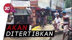 PKL Masih Jualan di Trotoar Jatinegara