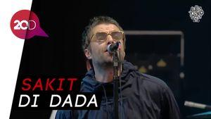 Liam Gallagher Tinggalkan Panggung, Fans Lempar Botol