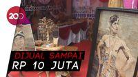 Mulyanto, Menyulap Pelepah Pisang jadi Karya Seni